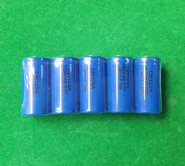 3v Cr123a Batteries Canada - 1200pcs 3v Non-rechargeable Lithium battery CR123A CR17345 DL123A 1500mAh for flashlight camera