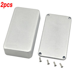 Echo Pedals Canada - 2PCS 1590B Series Aluminum Stomp Box For Guitar Effects Pedal box DIY Pedal Box