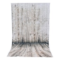 Chinese  3x5ft Vinyl Photography Background Dreamy Wooden Wall Floor Photographic Backdrop For Studio Photo Prop cloth 90x150cm manufacturers