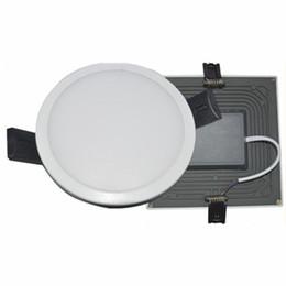 Интегрировать 8W 16W 22W 30W светодиодные фонари панели лампы CRI85 SMD 4014 высокое качество LED утопленные светильники Кухня Ванная комната