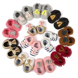 $enCountryForm.capitalKeyWord Canada - Pu leather Toddler Shoes tassels Baby Moccasins Soft Fashion new Newborn First Walking Shoes Infant boys girls Children Shoes Footwear A341