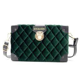 Handbags Women Velvet Bag Designer New Female Handbag Lingge Diamond  Lattice Bags Flap Fashion Lock Shoulder Bag Lady Crossbody Bags 77eb3da785c37