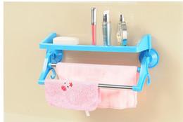 $enCountryForm.capitalKeyWord Canada - bathroom accessories towel shelf plastic bathroom shelf kitchen organizer bathroom strong sucker racks TT240