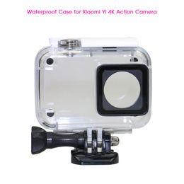 $enCountryForm.capitalKeyWord Canada - Wholesale- NEW Diving 40m Waterproof Case for Xiaomi Xiaoyi YI Sports Camera II 2 Protective Housing Case for Xiaomi YI 4K Action Camera 2