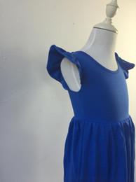 $enCountryForm.capitalKeyWord Canada - fashion girls flutter sleeveless dress boutique baby tunic kids party summer dress