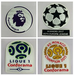 Football Patch Soccer Paris Ligue 1 Patch Badges ManUtd Chemise de football Patches Premier League Patch