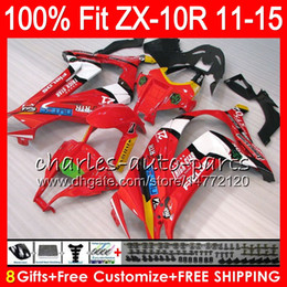 $enCountryForm.capitalKeyWord Canada - 8Gifts 23Colors Injection For KAWASAKI NINJA ZX 10R ZX10R 11 12 13 14 15 50NO19 TOP Red white ZX-10R ZX10 R 2011 2012 2013 2014 2015 Fairing