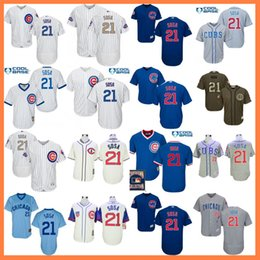 c2fe6ba7282 ... stitched baseball jersey 0fcee a762e  coupon code for men chicago cubs  jerseys 21 sammy sosa jersey flexbase cool base home away