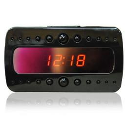 $enCountryForm.capitalKeyWord Australia - V26 IR Night Vision Clock Camera Full HD 1080P Alarm Clock pinhole camera Mini DV DVR Video Recorder With Motion Detection Remote Control