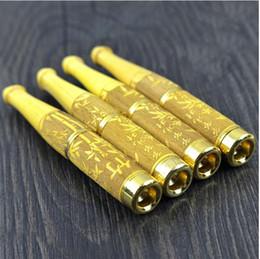 $enCountryForm.capitalKeyWord Canada - Natural Boxwood Cigarette Holder 18K Gold Carved Cigarette Holder Super Filter Sandalwood Cigarette Holder