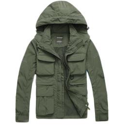 $enCountryForm.capitalKeyWord Canada - Wholesale- Free shipping Men's Brand fsahion Jacket Men Thin Casual Trench Coats Sleeves Detachable outerwear chaquetas jaqueta 108hfx