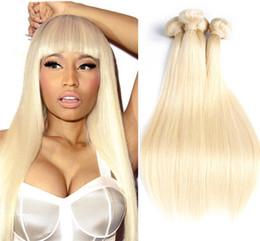 $enCountryForm.capitalKeyWord Canada - Blonde Hair Weave Straight Blonde 8a #613 Blonde Virgin Hair 3 Bundle 613 Extension Hot Selling 16 18 20Inch Factory Price