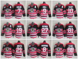 812b6daf9 ... white shoulder uniform e4973 288ef  czech 75 anniversary patch chicago  blackhawks 9 bobby hull nhl vintage ccm throwback retro ice hockey