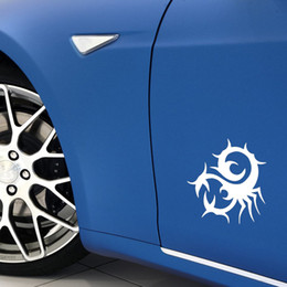 Chinese  New Style Car Stying Twisted Scorpion Animal Car Truck Window Wall Vinyl Decal Sticker Jdm manufacturers