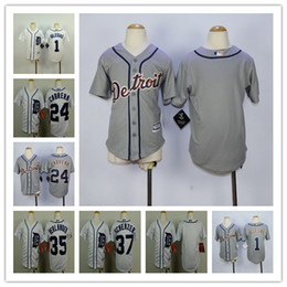 16cbc0d58 ... wholesale detroit tigers jersey kids 1 jose iglesias jersey white blue  stitched 24 miguel cabrera youth