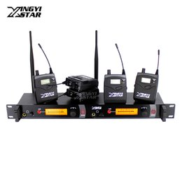 $enCountryForm.capitalKeyWord Canada - Wireless In Ear Monitor Professional Stage Monitoring System Five Bodypack Receiver With One Cordless Transmitter Monitors in Headphone