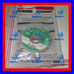 Clear bmw online shopping - CP GOOT WICK desoldering Tin Line with a clear split BGA pad removal Tin of solder wire