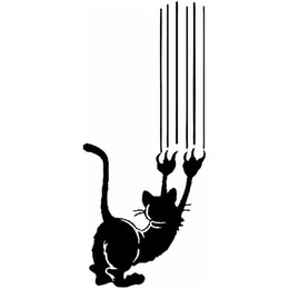 Discount jdm sticker exterior - Angry Cat Claw Vinyl Decal Reflective Car Stickers Car Styling Bumper Accessories Motorcycle Exterior JDM