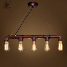 interior lighting for designers. American Retro Water Pipe Antique Designer Metal Glass E27 Bulbs Iron Pendant Lamp For Decor Restaurant Bar Interior Lighting Designers