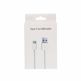 data pro cables UK - 200pcs lot 1M 3FT White Usb 3.1 Type-C to USB 2.0 Cable Data Charging Cord Line for Huawei LG G5 XiaoMi MEIZU Pro 5 with Box