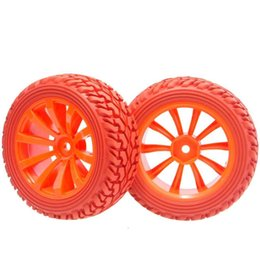 $enCountryForm.capitalKeyWord UK - RC 604-8019R Rubber Tires & Plastic Wheel Rims 4P HSP HPI 1 10 On-Road Rally Car