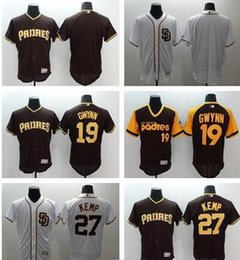... 2016 Flexbase MLB Stitched San Diego Padres 27 Matt Kemp 19 Gwynn Blank  White Baseball Jerseys Padres 35 Randy Jones Brown Flexbase Authentic  Collection ... 62a9f45ef