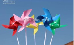 $enCountryForm.capitalKeyWord NZ - free shipping EMS simple four corners solid color windmill windmills handmade DIY1000 lot