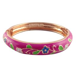 $enCountryForm.capitalKeyWord Canada - cute Flower style Elegant Bangles Women metal Accessories Fashion Jewelry many Colour Valentine Day Gifts P046