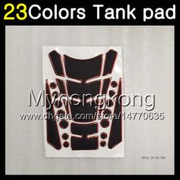 Cap 93 online shopping - 23Colors D Carbon Fiber Gas Tank Pad Protector For HONDA VFR400RR NC30 VFR400 RR D Tank Cap Sticker