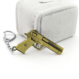 Chain Counter Australia - Original new Novelty Counter Strike AK47 Guns Keychain Men Trinket CS GO Awp Rifle Sniper Key Chain Ring Jewelry Souvenirs Gift