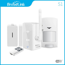$enCountryForm.capitalKeyWord Australia - Wholesale- Broadlink S1C,Accessories,smart home Automation system Security Alarm System Detector Sensor Control for ISO android via 3g 4g