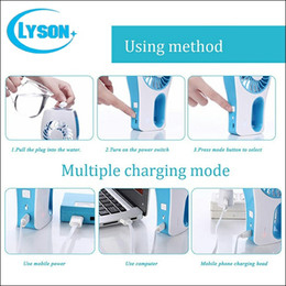 $enCountryForm.capitalKeyWord Canada - Portable Summer Cooler 3 Colors Mini USB Misting Humidifier Fan Water Spray Mist Fan For office outdoor