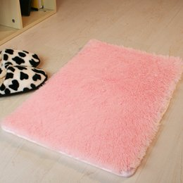 Discount Pink Purple Rug Wholesale  40*60cm Microfiber Bath Mat Rugs Dark  Gray Purple