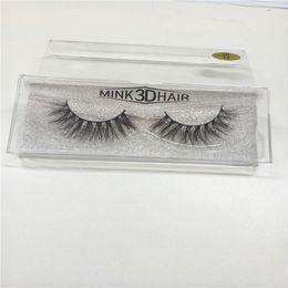 Top False Eyelashes Australia - Top 3d Mink lashes 100% Thick real mink HAIR half false eyelashes natural for Beauty Makeup Extension fake Eyelashes false lashes