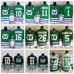 Discount hartford whalers jerseys - Mens Hartford Whalers Hockey Jerseys 10  Ron Francis 26 Ray Ferraro d3dfd79cc
