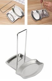 Hot disH Holder online shopping - Hot Bar Kitchen accessories stainless steel pot lid shelf kitchen organizer pan cover lid rack stand sponge spoon holder dish rack