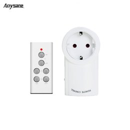 $enCountryForm.capitalKeyWord Canada - Wholesale-1 to 1 EU Smart Power Socket Plug 433.92MHZ Wireless RF Remote Control 1 Light Switch Plug Socket with 1 Transmitter Smart home