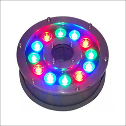 Swimming pool underwater light online shopping - Green Blue DC12V DC24V underwater light swimming pool fountain plaza waterproof lights Ac V long time lifespan IP68