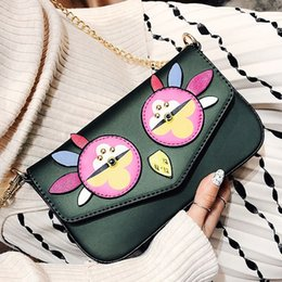 chicken handbag 2019 - messenger bags handbags women famous brands chicken bag chain shoulder crossbody bags lady luxury pattern purse clutch h