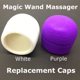$enCountryForm.capitalKeyWord NZ - Magic Wand Massager Replacement Caps Head for 10 speed Magic Wands Vibrator Adam Eve Head Caps Attachment Free by DHL