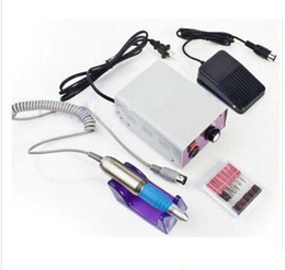 Nail glaziNg online shopping - New Fashion Professional Salon and Home Use Nail Art Glazing Drill Machine Manicure Y614 Low Noise good quality