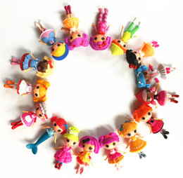 $enCountryForm.capitalKeyWord Canada - baby doll toys button eyes mini Lalaloopsy dolls child birthday gift toys play house action collection figure kids toy 8 different style