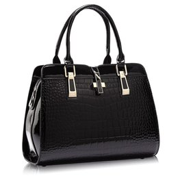 Black Patent Leather Totes Online | Black Patent Leather Handbags ...