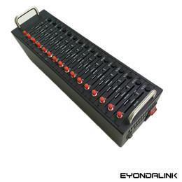 Бесплатная доставка Оптом - С модулем Q2303, Поставка 16-канального GSM-модема для смс, Массовый SMS модемный пул на Распродаже