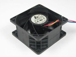 server fan 12v delta NZ - Delta QFR0812UHE, -AB53 DC 12V 2.50A 4-wire 4-pin connector 80mm 80X80X38mm Server Square Cooling Fan