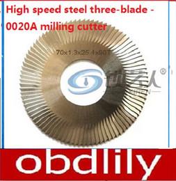 $enCountryForm.capitalKeyWord Canada - Raise High speed steel three-blade -0020A milling cutter For WenXing Key Cutting Machine 100D,100E,100E1,100F -0020A locksmith