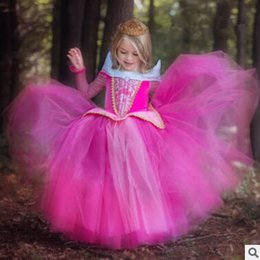 Les Enfants Du Soir Pas Cher-Princesse Halloween Party Evening Costume Soft Tulle Enfants Cosplay Dress Party Girl Princess Lace Robes en diamant Kids Girls Dresses