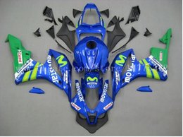Honda F5 NZ - Abs fairings+tank for HONDA CBR600RR F5 2007-2008 CBR600RR 07-08 CBR600 RR 2007 2008 F5 injection fairing kits #7v6h3 Blue movistar