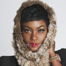 Discount new fashion hairstyles - Fashion New Style Brazilian Short pixie 100 human hair wigs for black women short cut lace wig human hair wig top qualit