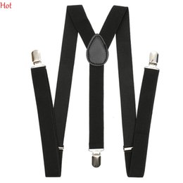 Pantalon Chaud Masculin Pas Cher-Fashion Adult Suspenders Clips Braces Homme Femmes Hommes Vintage Casual Trousers Strap Clip-on Adjustable Unisex Pantalons Y-back Suspender Hot 1460